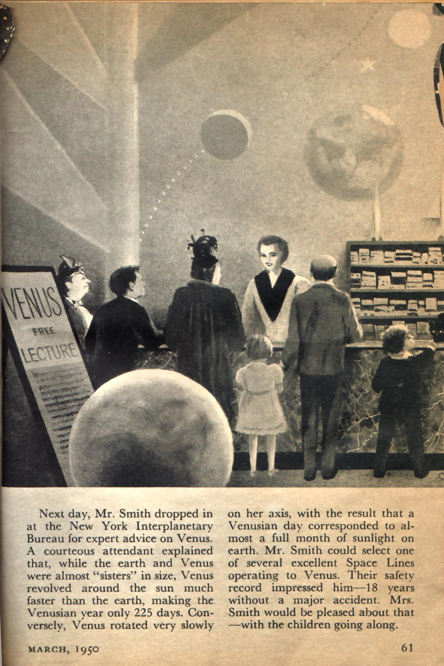 Mr Smith Goes To Washington 2012 Version >> Chesly Bonestell, Mr. Smith Goes to Venus, March, 1950 « Resources for Science Fiction Writers
